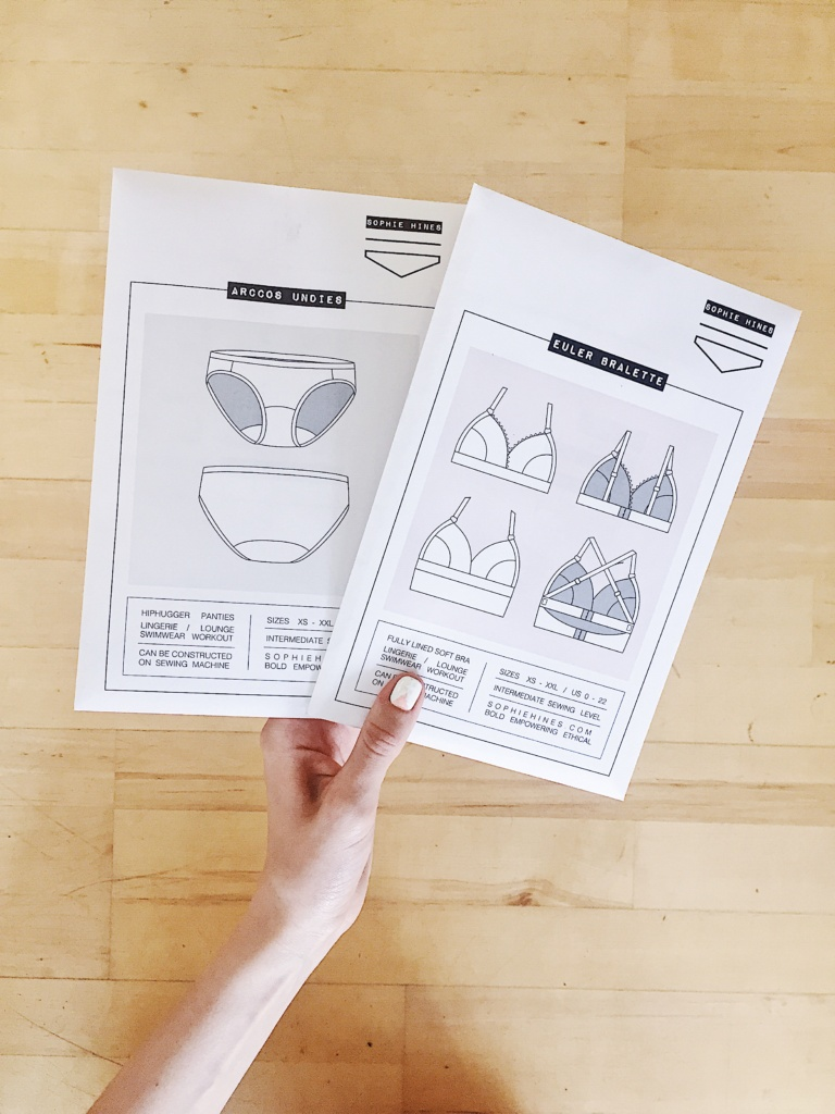 Sophie Hines Lingerie Patterns