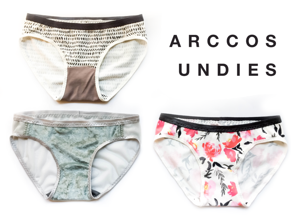 Sophie Hines Arccos Undies Sewing Pattern Knicker Panty