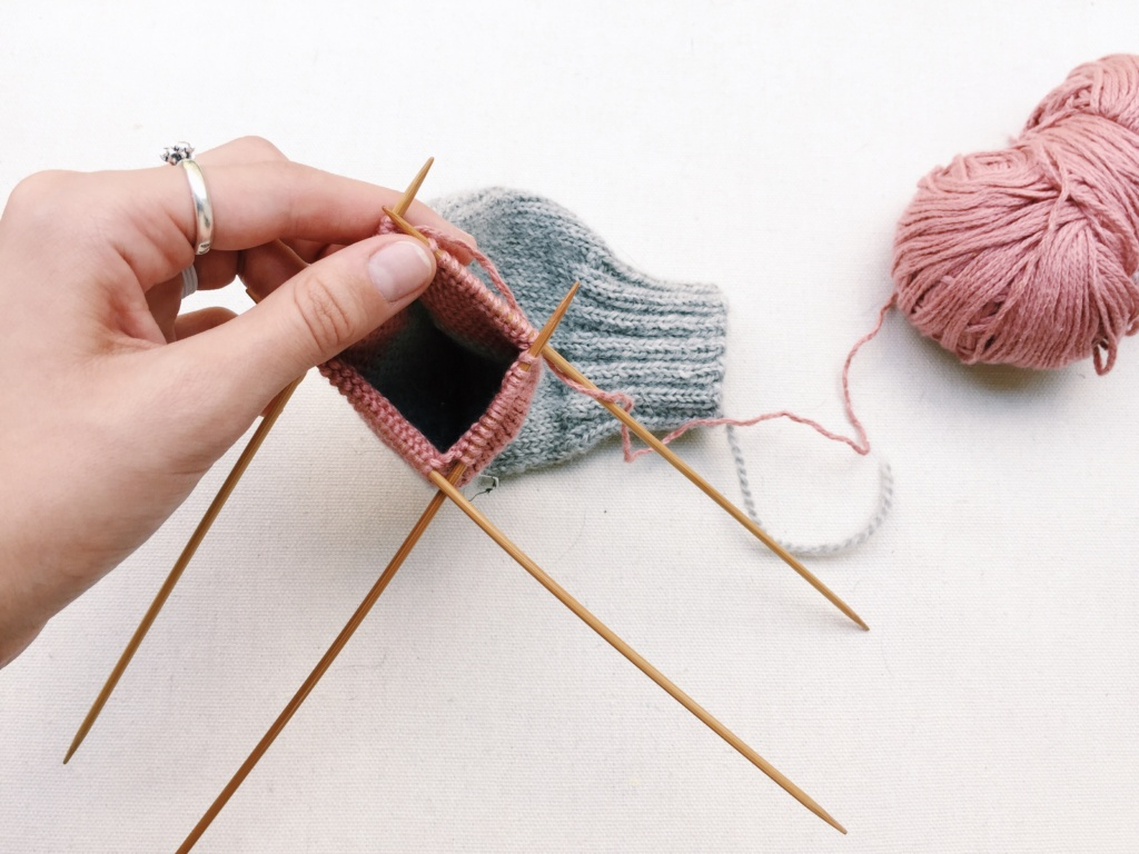 Sophie Hines Summer of Basics Hand Knitting Socks