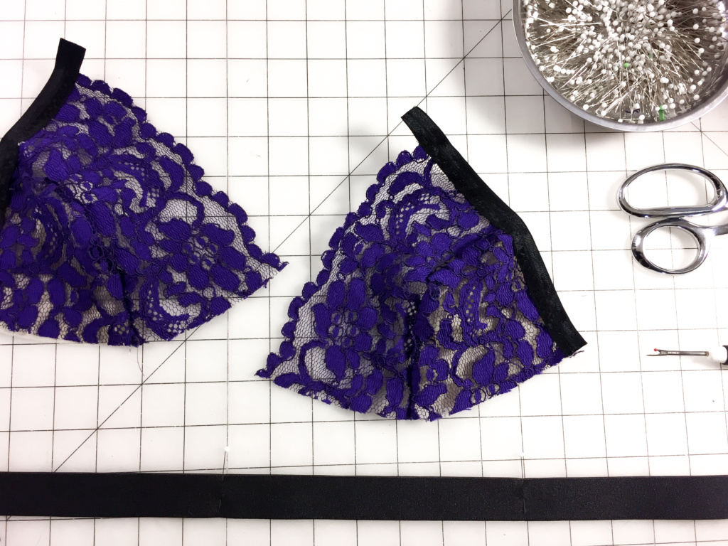 Sophie Hines Stretch Lace Tutorial Euler Bralette Lingerie Sewing Handmade Wardrobe